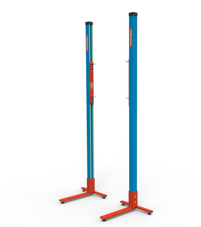 """Стойки для прыжков в высоту Standard Elite 2 """"Nordic sport""""-IAAF"""